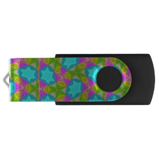 Crazy Color pattern Swivel USB 3.0 Flash Drive
