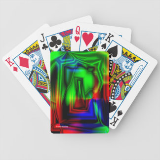 Crazy Colorful Bicycle Poker Cards