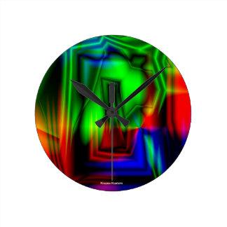 Crazy Colorful Clocks
