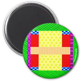 Crazy Colorful Magnet