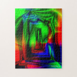 Crazy Colorful Jigsaw Puzzles