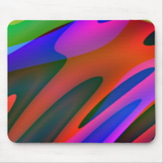 Crazy Colors 3 Mouse Mat