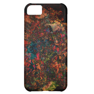crazy colors abstract iPhone 5C case