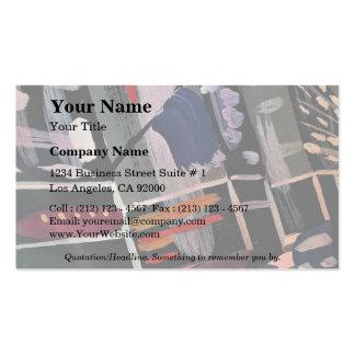 Crazy colors business cards