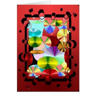 Crazy Colors Card