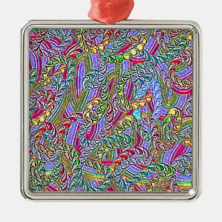 Crazy colors game ornament