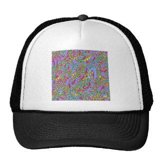 Crazy colors game hats