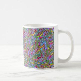 Crazy colors game coffee mug