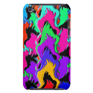 Crazy colors iPod touch cover