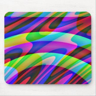 Crazy Colors Mouse Pad