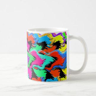 Crazy colors mug