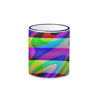 Crazy Colors Coffee Mugs