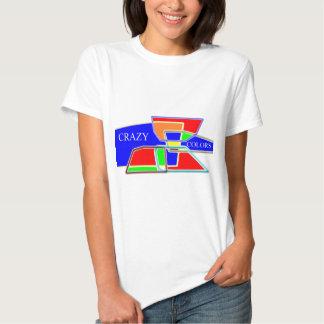 Crazy colors shirt