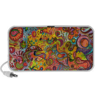 Crazy Colors Travel Speakers