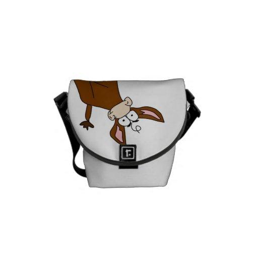 Crazy Cow Messenger Bag