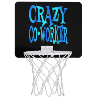 Crazy CoWorker Mini Basketball Hoop