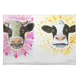 Crazy Cows Placemat