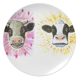 Crazy Cows Plate