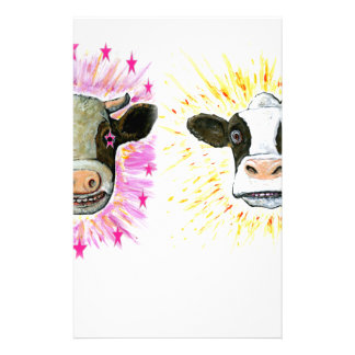 Crazy Cows Stationery