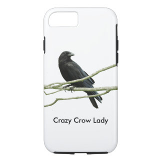 Crazy Crow Lady iPhone 8/7 Case