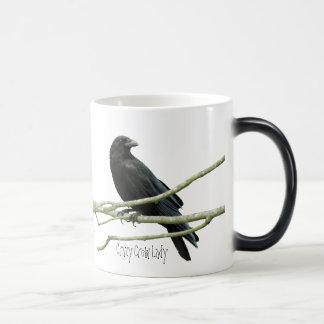 Crazy Crow Lady Mug
