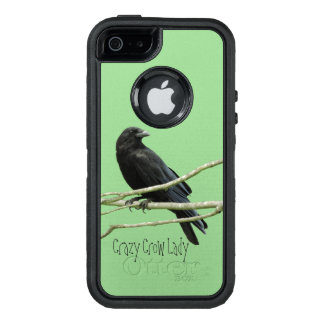 Crazy Crow Lady Otterbox Defender Case