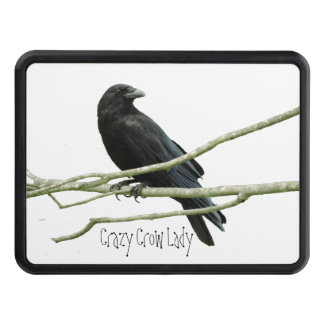 Crazy Crow Lady Trailer Hitch Cover