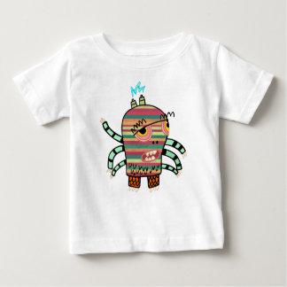 Crazy Cute Six-Armed Panic Monster Baby T-Shirt