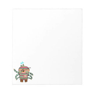 Crazy Cute Six-Armed Panic Monster Notepad