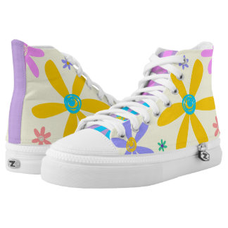 Crazy Daisy Printed Shoes