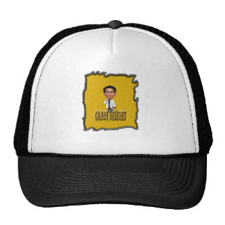 Crazy Dentist coloring Yellow Mesh Hat