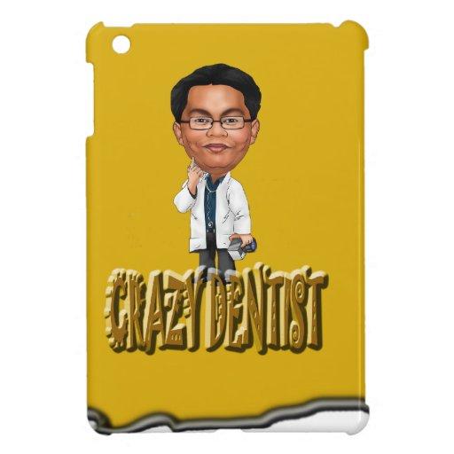 Crazy Dentist coloring Yellow iPad Mini Covers