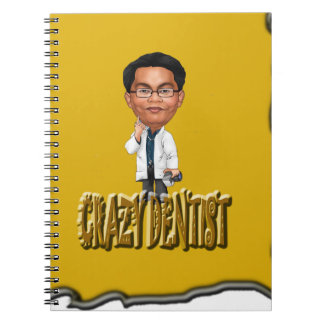 Crazy Dentist coloring Yellow Note Books