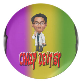 Crazy Dentist With Background Plates