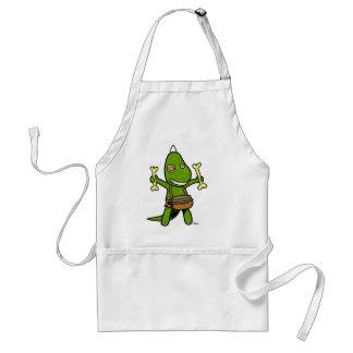 crazy dino standard apron
