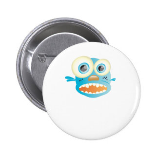 crazy dog pinback buttons