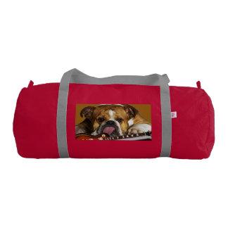crazy dog gym duffel bag