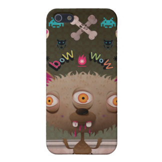 Crazy Dog iPhone 5/5S Cover