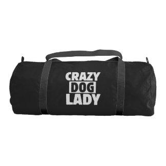 Crazy Dog Lady Gym Bag
