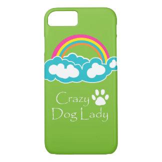 Crazy dog Lady iPhone 7 Case