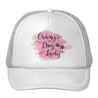 Crazy Dog Lady (Pink) Cap