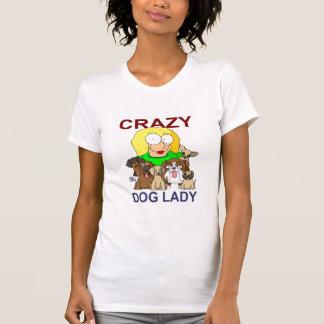 Crazy Dog Lady Tee Shirts