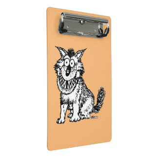 Crazy Dog Mini Clipboard