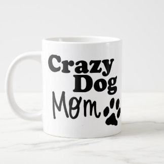 Crazy Dog Mom Coffee Tea Mug Dog Lovers Gift