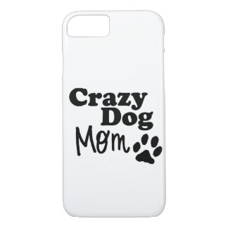 Crazy Dog Mom Phone Case Lovers Mothers Day Gift