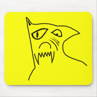 Crazy Dog Mouse Pad