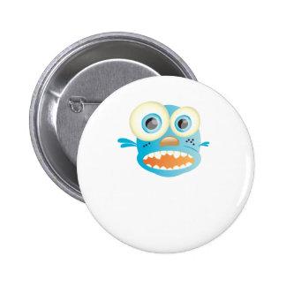 crazy dog pinback buttons