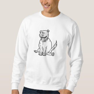 Crazy-Dog Sweatshirt