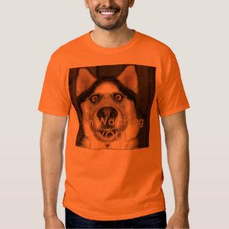 Crazy dog tee shirt