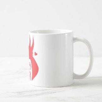 Crazy Dragon Lady Basic White Mug